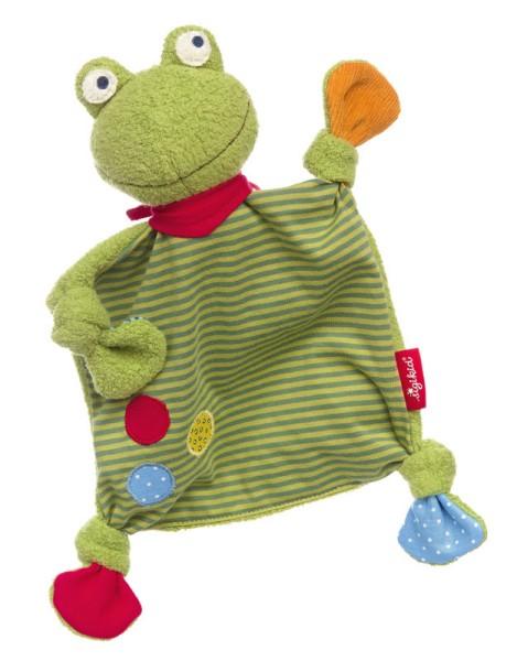 sigikid Schnuffeltuch/Schmusetuch Flecken Frog