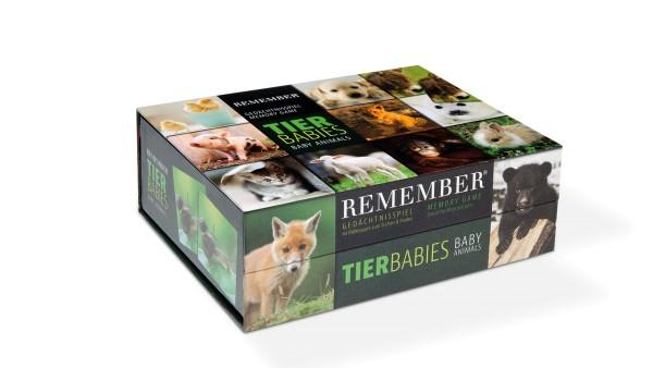 Remember Gedächtnisspiel Tierbabies