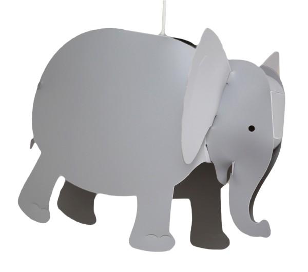 R&M Coudert Deckenlampe Elefant grau
