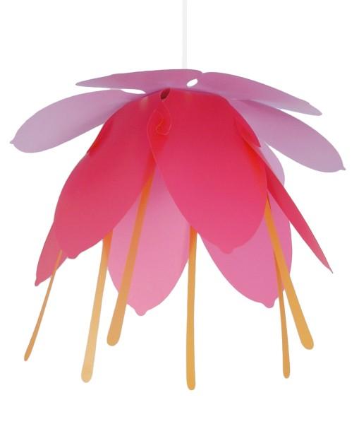 R&M Coudert Deckenlampe Blume lila/fuchsia