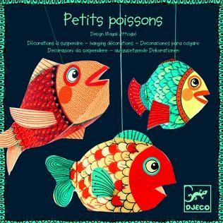 Djeco Leichtgewichte zum hängen - Kleine Fische