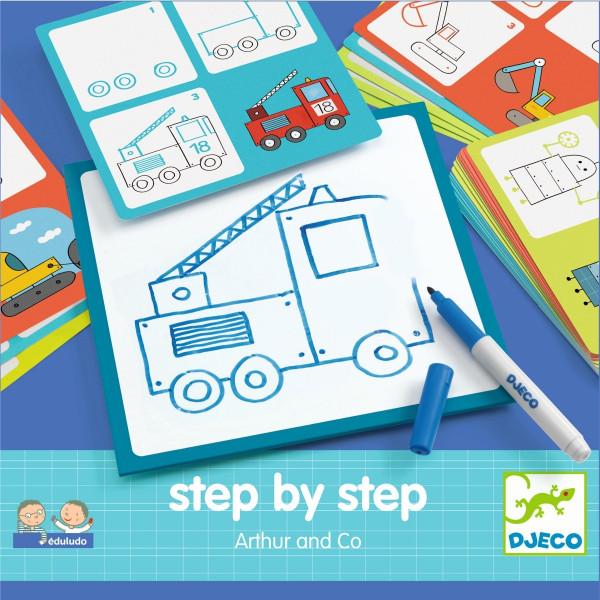 Djeco Step by step - Arthur und Co