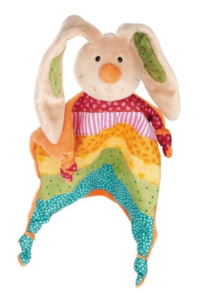 sigikid Schnuffeltuch/Schmusetuch Rainbow Rabbit