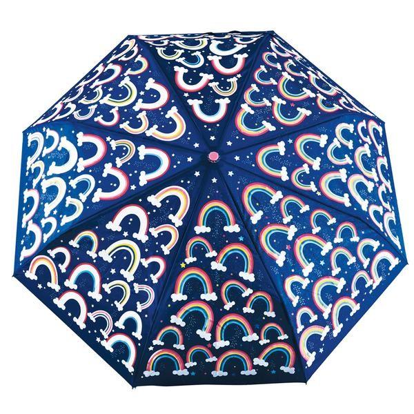 Floss & Rock Regenschirm mit Farbwechsel - Regenbogen