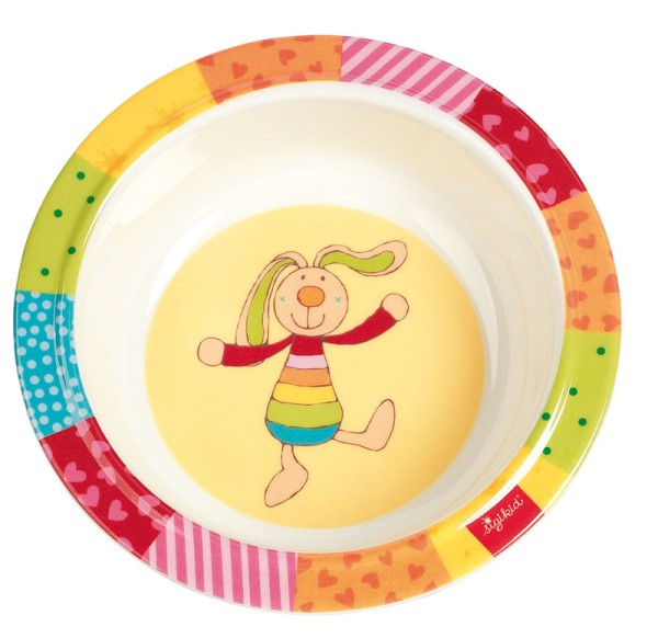 sigikid Melamin Schüssel Rainbow Rabbit