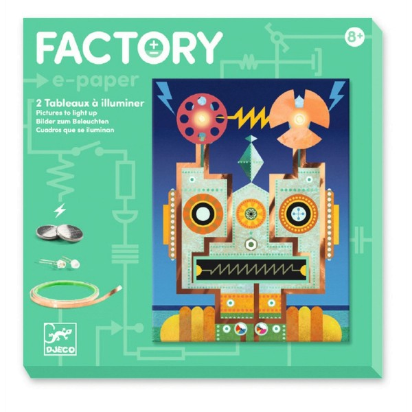 Djeco Factory: Roboter
