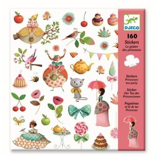 Djeco Stickers Teekränzchen der Prinzessinen