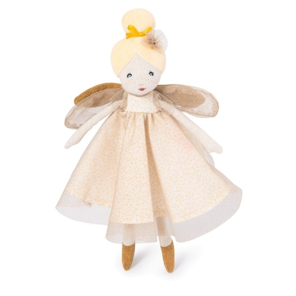 Moulin Roty Stoffpuppe Fee gold 30 cm