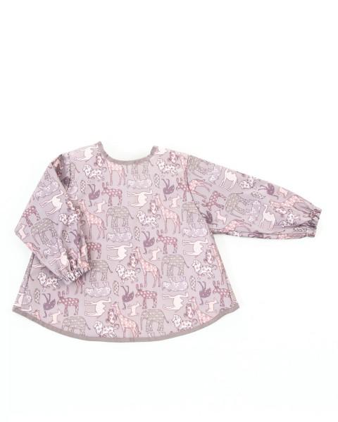 Smallstuff Langarmlätzchen - Tiere rosa