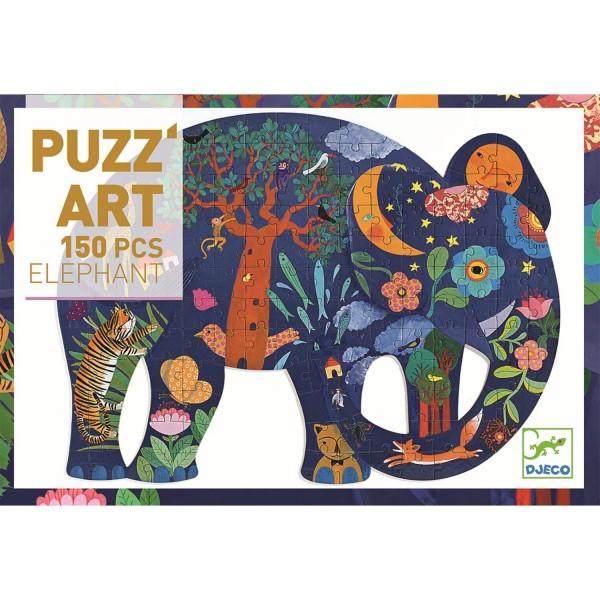 Djeco Puzzle Elefant- 150 Teile