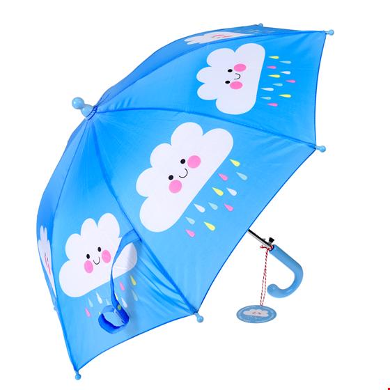 Rex London Regenschirm mit Automatik  Happy Clouds