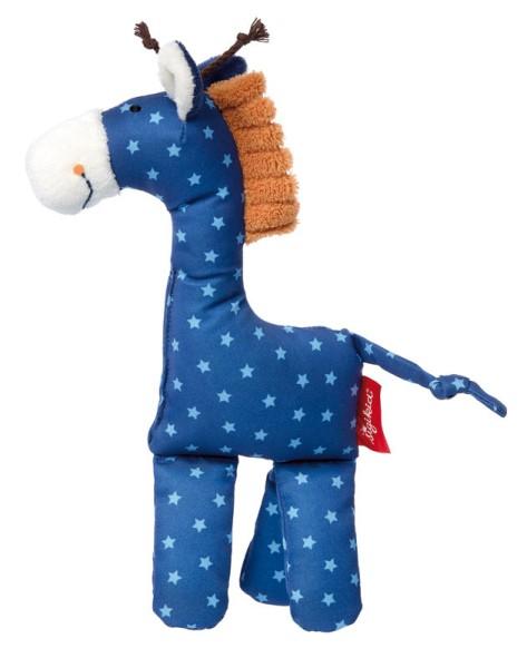sigikid Kuschelfigur Giraffe blau