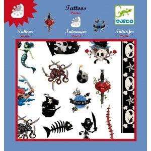 Djeco Tatoos Piraten