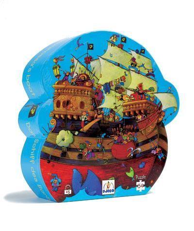 Djeco Puzzle Barbarossas Boot