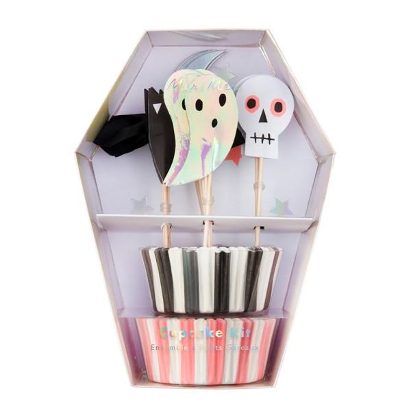 Meri Meri Cupcake-Deko-Set mit Halloweenmotiven