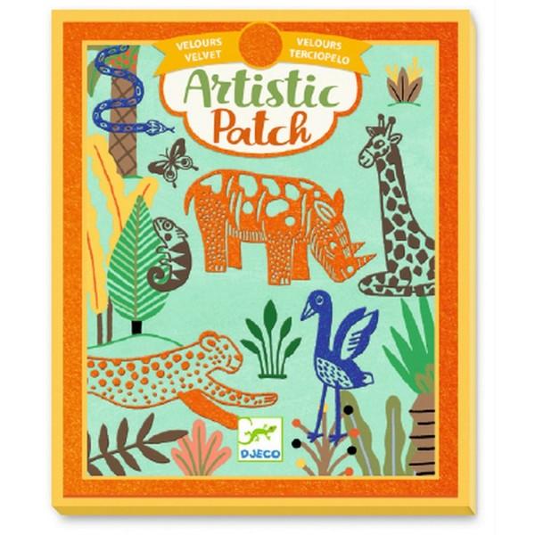 Djeco Artistic Patch: Wilde Tiere