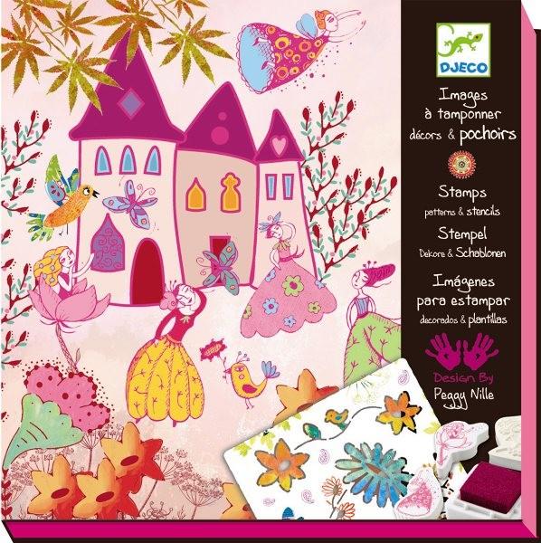 Djeco Stempelbild Geschichtenerzähler Prinzessin