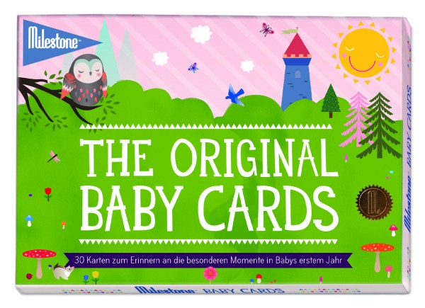 Milestone - The Original Baby Cards - deutsche Version