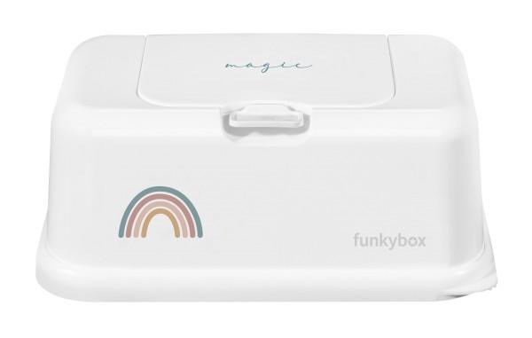Funkybox Feuchttücher Box - magic rainbow