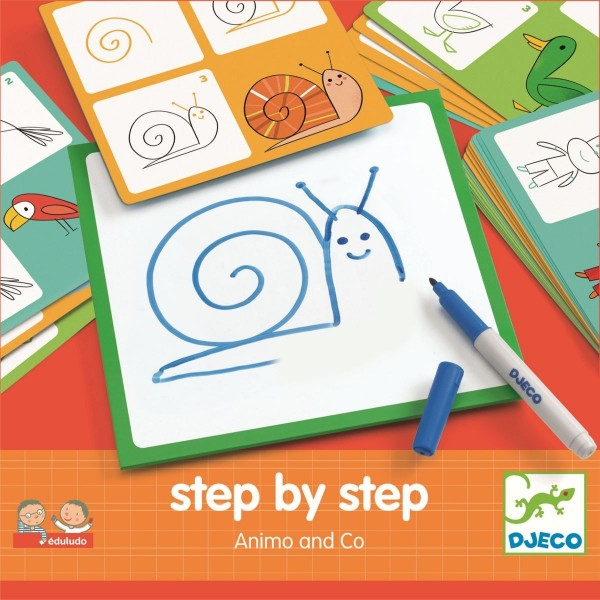 Djeco Step by step - Tiere und Co