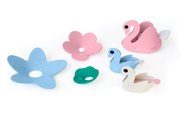 Quut Badespielzeug 3D Puzzle Schwan
