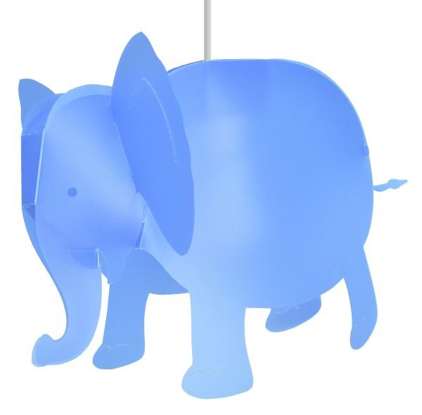 R&M Coudert Deckenlampe Elefant blau