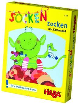 Haba Socken Zocken Kartenspiel