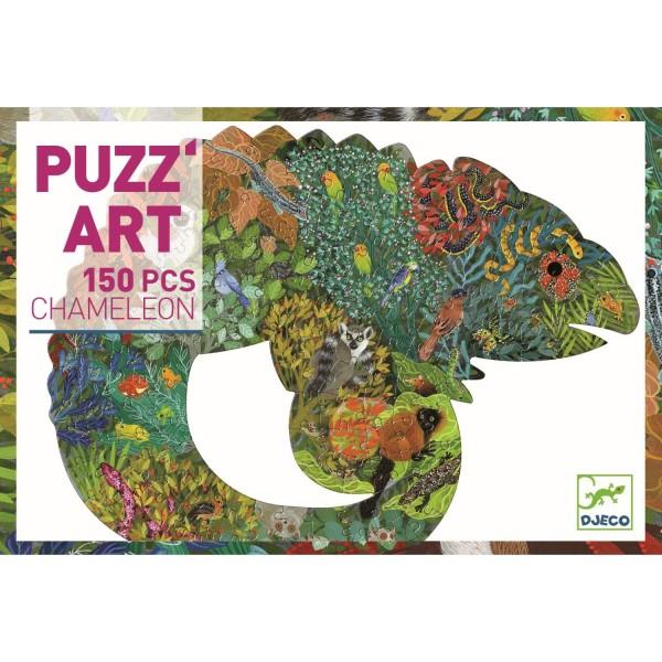 Djeco Puzzle Chamäleon - 150 Teile