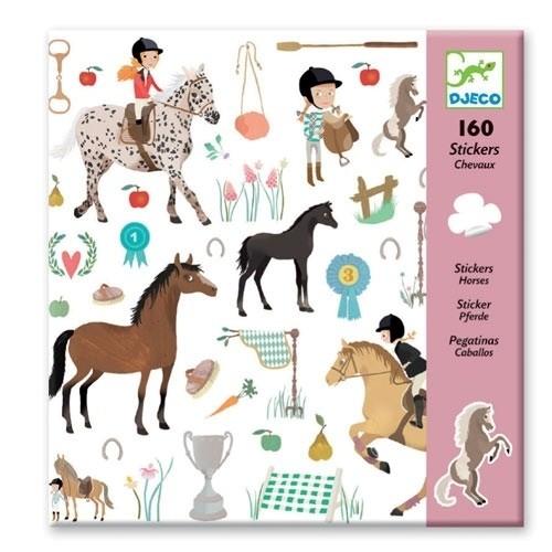 Djeco Stickers Pferde