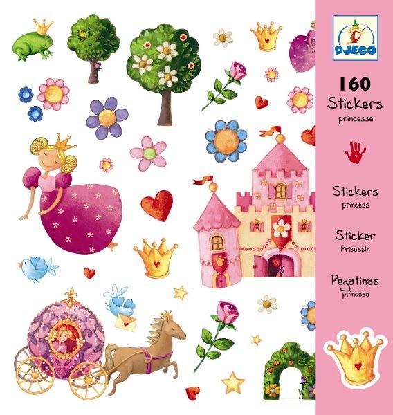 Djeco Stickers Prinzessin Marguerite
