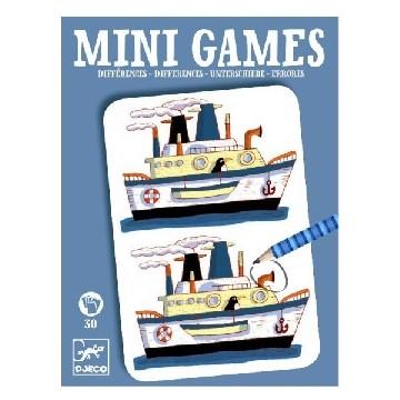 Djeco Mini Spiele: Unterschiede von Remi