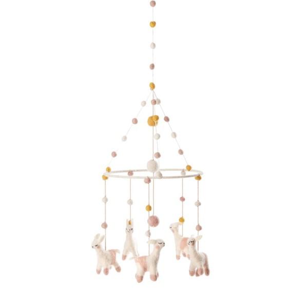 Pehr Design Mobile Lamas
