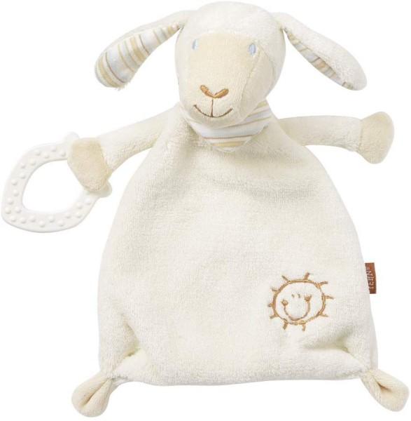 Fehn Babylove Schmusetuch mit Softbeißer Schaf Paul