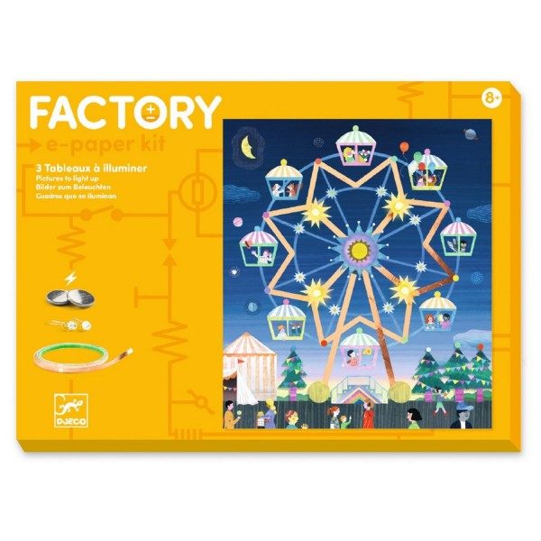 Djeco Factory: Da oben
