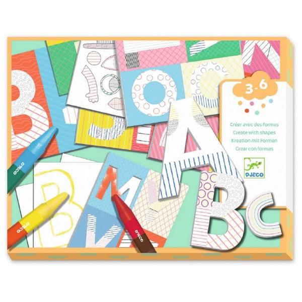 Djeco Eine Welt kreieren: Buchstaben