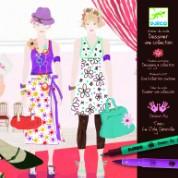Djeco Filzstifte Fashion Show
