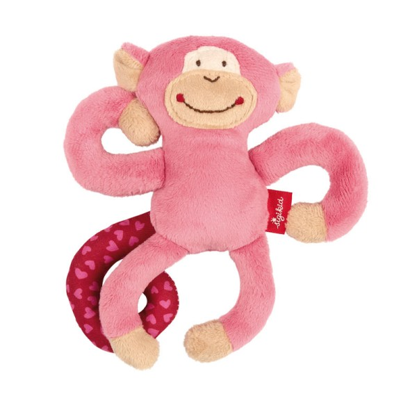 sigikid Anhänger Affe pink