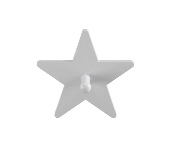 Kids Concept Haken Star grau