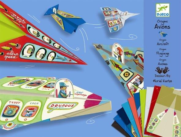 Djeco Origami Flugzeuge