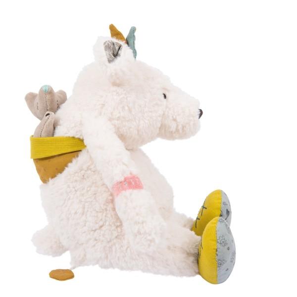 Moulin Roty Musik-Puppe Eisbär