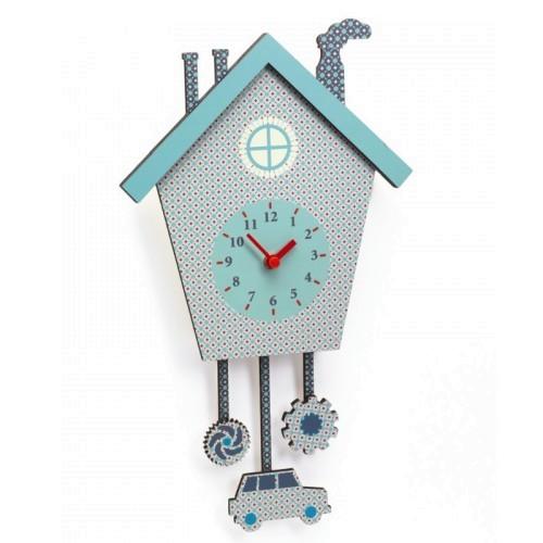 Djeco Wanduhr Caros clock