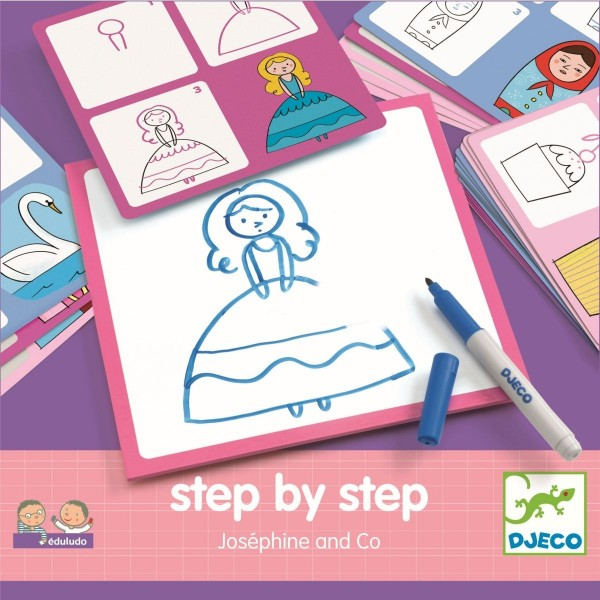Djeco Step by step - Joséphine und Co