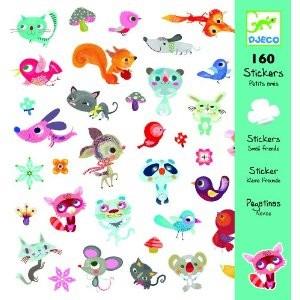 Djeco Stickers Kleine Freunde