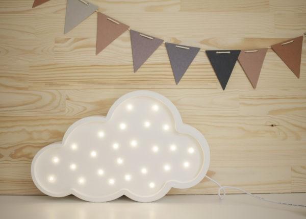 Little Lights LED Lampe Wolke weiß