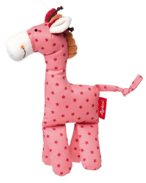 sigikid Kuschelfigur Giraffe pink