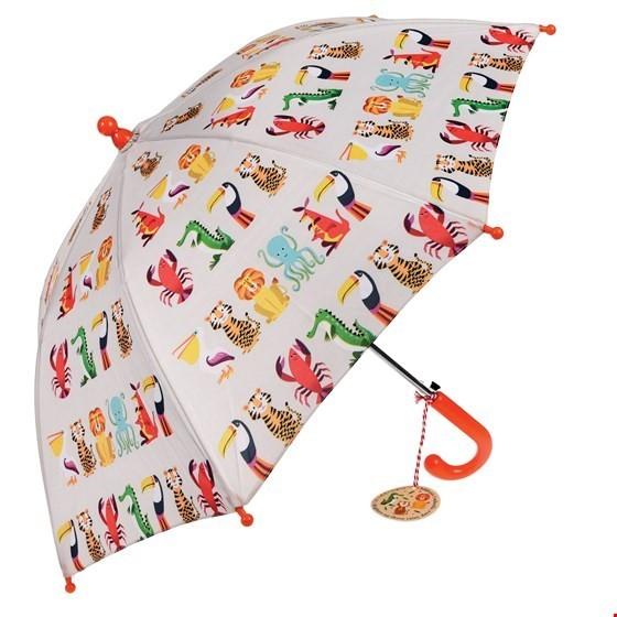 Rex London Regenschirm mit Automatik Tiere