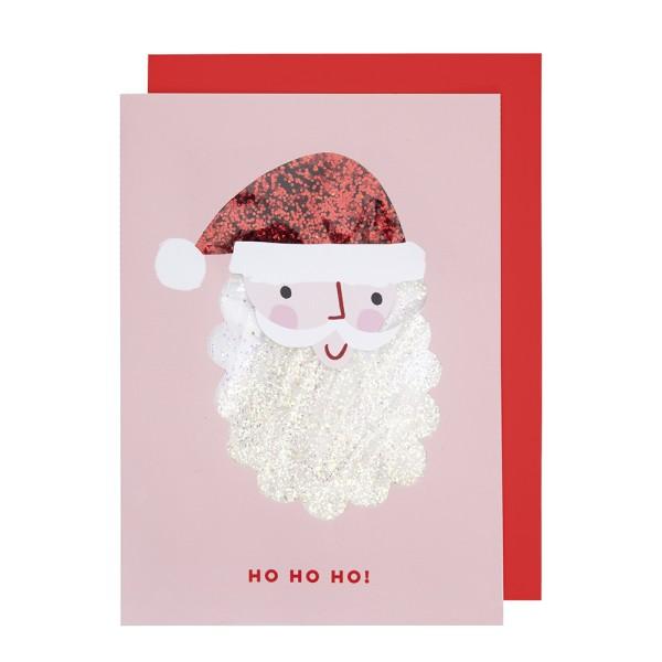Meri Meri Weihnachts-Grußkarte Weihnachtsmann