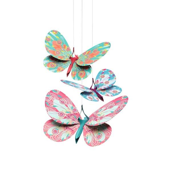 Djeco Leichtgewichte zum hängen - Schmetterlinge