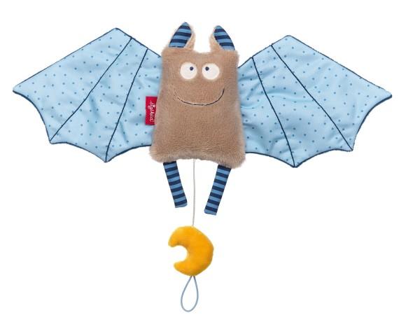 sigikid Spieluhr Fledermaus blau