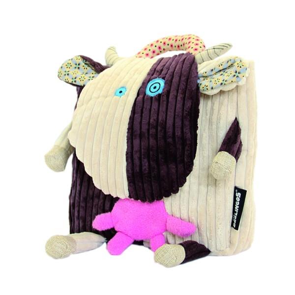 Les Deglingos Mini-Rucksack Milkos die Kuh